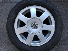 Komplektratas 7x15 ET45 5x112 Volkswagen 3B0 601 025 A 205/60R15 91V Uniroyal Rallye 550