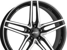 Velg 9x20 ET37 5x112x57,1 ATS Twinlight racing-schwarz frontpoliert