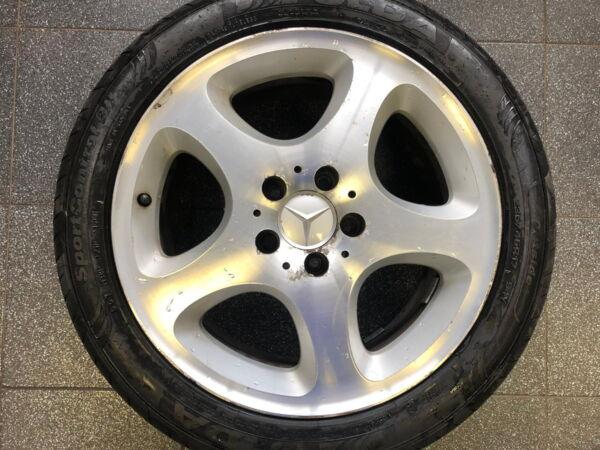 Komplektratas 8x17 ET37 5x112 Mercedes-Benz A210 40 11 002 235/45R17 94Y Fulda SportControl 2