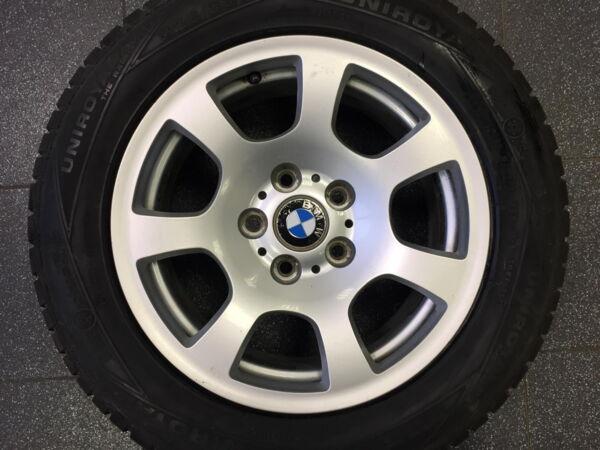 Komplektratas 7x16 ET20 5x120x72,5 BMW 6762000 225/55R16 95H Uniroyal MS plus 55 M+S